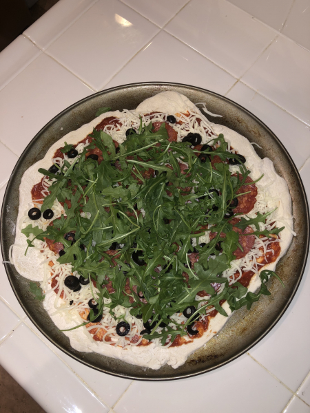 Homemade Pizza!